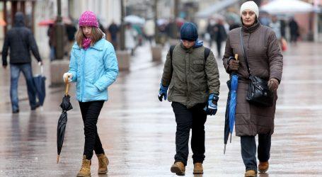 DHMZ: Promjenljivo sa sunčanim razdobljima, na moru kiša, u gorju snijeg