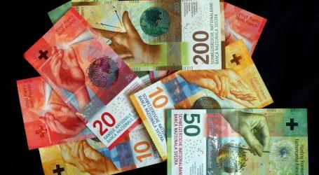 STRAHOVITI USPON NAJSIGURNIJE SVJETSKE VALUTE: Švicarska se bori da zaustavi rast franka