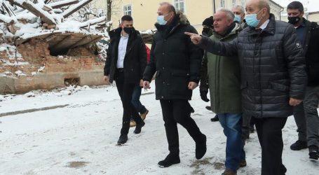 Čin solidarnosti: Francuski šef diplomacije posjet Hrvatskoj počeo u Petrinji