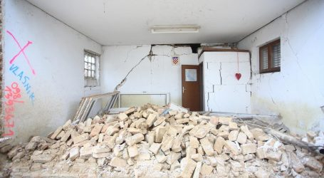 Na potresom razrušenom području neupotrebljiva 4144 objekta