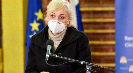 """Capakova pomoćnica Bubaš: """"Malo je skeptičnih oko cijepljenja. Mjere protiv korone djeluju i protiv gripe"""""""