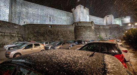 Snijeg u Dubrovniku, na terenu gradska zimska služba
