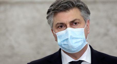 """Plenković: """"Sigurno da nam nije koristila ova situacija oko župana Žinića"""""""