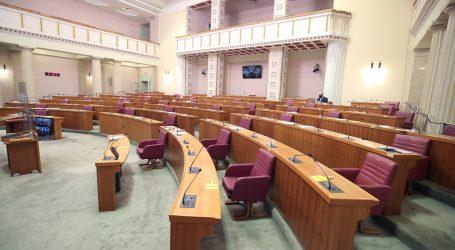 Sabor u petak glasuje o raspravljenim točkama dnevnog reda