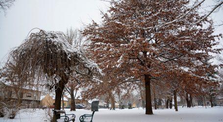 DHMZ: Umjereno oblačno uz malo snijega