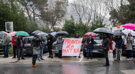 Dubrovnik: Prosvjed podrške šefu pogranične policije nije bio prijavljen policiji. Slijedi prekršajna prijava