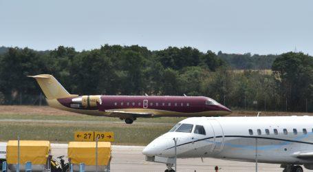 Zrakoplov hrvatske kompanije imao nezgodu prilikom slijetanja u Belgiji