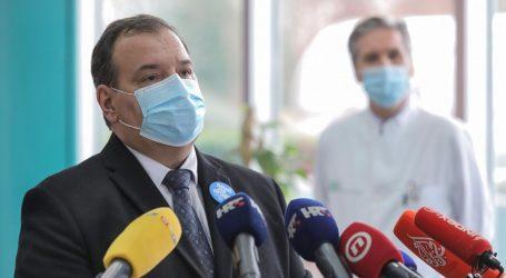 """Vili Beroš: """"Građani s potresom pogođenih područja premjestit će se u najbliže bolnice"""""""