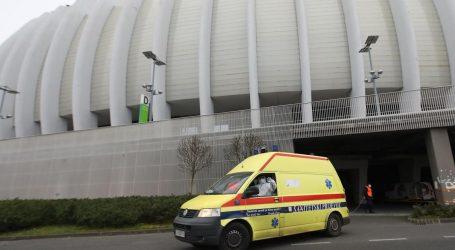Zagrebačka Arena prazna, ali ostaje u pripravnosti
