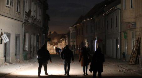 Vlada na sjednici otpisuje režijske troškove na potresom pogođenom području