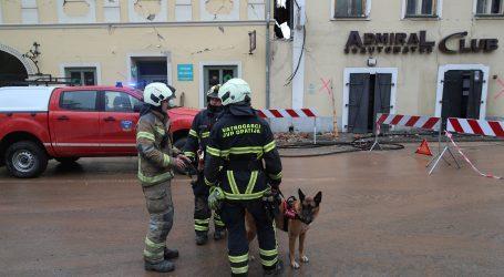 Ozlijeđeni vatrogasci pri saniranju objekata od potresa, stiže i psiholog na pogođeno područje