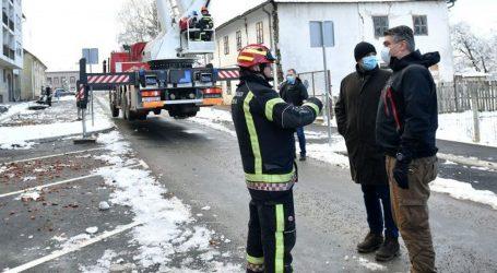 Vatrogasne snage s više intervencija na potresom pogođenom području
