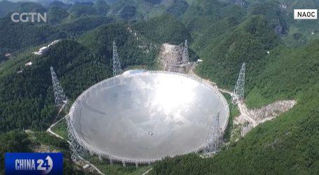 'Tanjur' radijskog teleskopa FAST velik kao 30 nogometnih igrališta