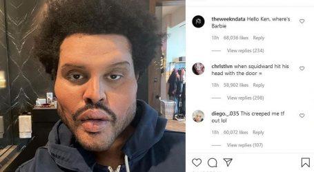 The Weeknd skinuo zavoje, njegovi obožavatelji šokirani