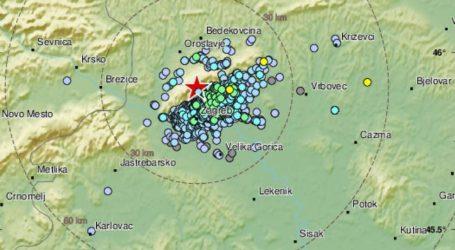Epicentar kod Markuševca: Slab potres oko 4 ujutro zatresao Zagreb