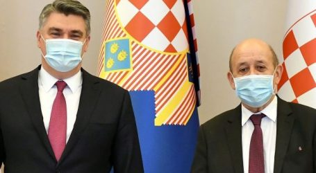 Predsjednik Milanović primio ministra za Europu i vanjske poslove Republike Francuske