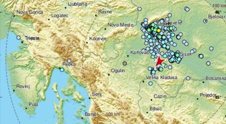 Novi potres kod Petrinje, magnitude 3,5 stupnjeva prema Richteru