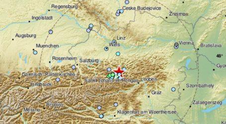 Potres magnitude 4.5 po Richteru zatresao Austriju
