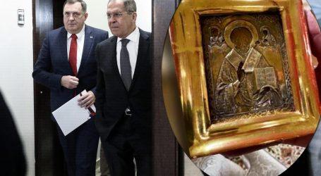 'Novi nastavak' sage: Ukrajinski šef diplomacije poručio da Dodik laže, tvrdi da je ikona ukradena