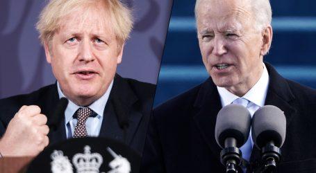 Boris Johnson i Joe Biden razgovarali o 'produbljivanju saveza'