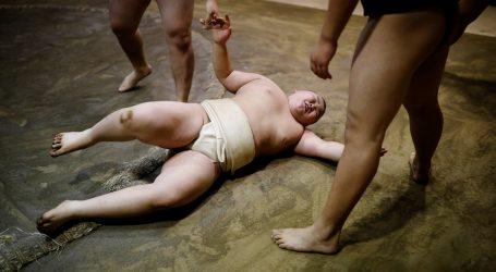 Kyuta Kumagai ima deset godina i svjetski je prvak u sumo hrvanju