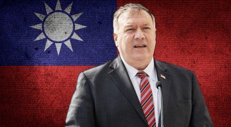 Kina bijesni zbog 'lude provokacije', Pompeo ukinuo restrikcije u kontaktima američkih i tajvanskih dužnosnika