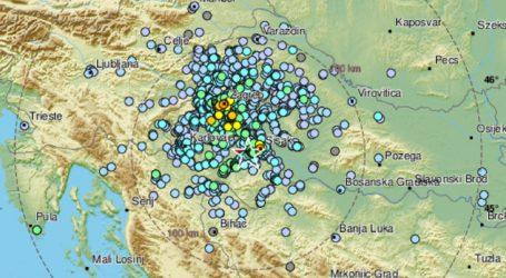 Prilično jak potres s epicentrom kod Gline, magnituda je bila 3.8 po Richteru