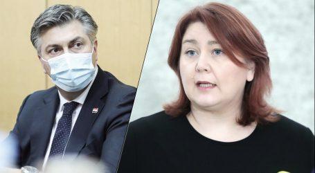 """Zastupnica SDP-a Plenkoviću: """"Promaknuli su vam Kuščević i Tolušić, sad vam promiče i Žinić"""""""