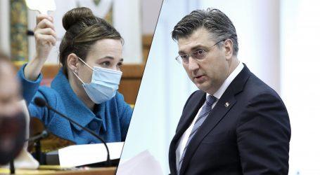 """Plenković: """"Zastupnica Selak Raspudić puno čita, ali možda neprecizno"""""""