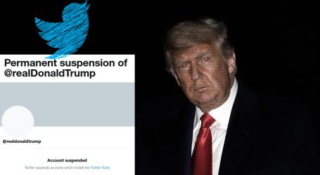 Twitter trajno suspendirao profil Donalda Trumpa – 'zbog rizika od daljnjeg poticanja na nasilje'
