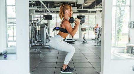 Prilikom izvođenja čučnjeva i vježbi za noge važno je povremeno istezanje