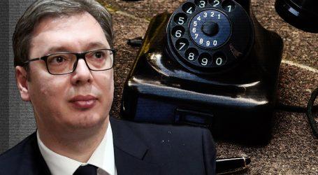 Srbijanski mediji tvrde da je registrirano 660 minuta prisluškivanih razgovora Aleksandra Vučića
