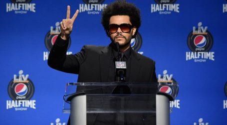 Pogledajte spektakularan nastup The Weeknda u poluvremenu Super Bowla