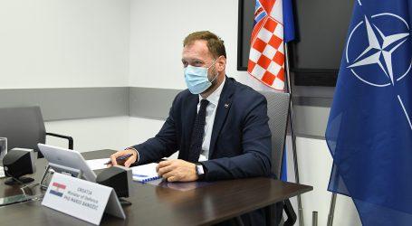 Banožić na sastanku ministara obrane NATO-a