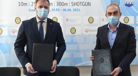 Banožić potpisao Sporazum o potpori Europskom prvenstvu u streljaštvu 2021.