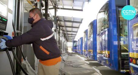 Bogotá: Stiglo tisuću električnih autobusa za javni prijevoz