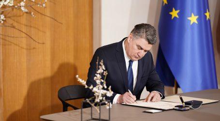 Milanović ne odustaje od prava da predloži svog kandidata za predsjednika Vrhovnog suda
