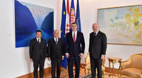 Predsjednik Milanović razgovarao s predstavnicima Doğuş Grupe o novim investicijama u Hrvatsku