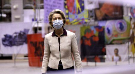 Ursula von der Leyen pred eurozastupnicima brani strategiju cijepljenja