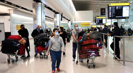 Velika Britanija pooštrava kontrolu na granici zbog novog soja virusa