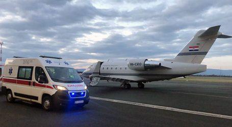 Državnim avionom iz Dubrovnika u Zagreb hitno prebačen četverogodišnji dječak