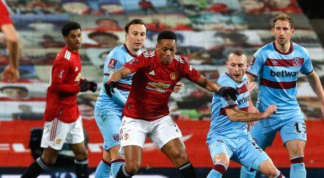 FA Kup: Manchester United do četvrtfinala nakon produžetaka protiv West Ham