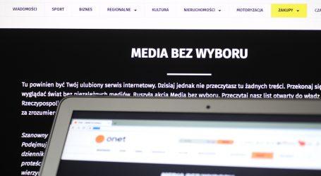 Poljski mediji tišinom prosvjeduju protiv planiranog poreza na oglašavanje