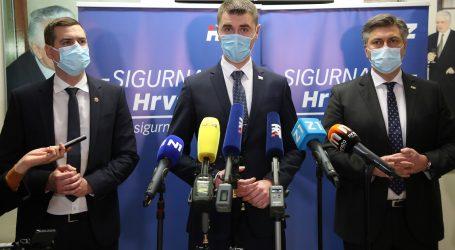 Zagrebački HDZ i službeno predstavio Filipovića kao kandidata za gradonačelnika