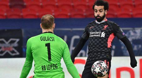 Velike pogreške obrane Leipziga: Liverpool jednom nogom u četvrtfinalu