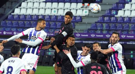 Real Madrid pobijedio Valladolid i došao na tri boda od vodećeg Atletica
