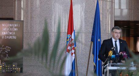 """Plenković u povodu Dana NSK: """"Jezik i pismo glavne su odrednice identiteta i posebnosti naroda"""""""