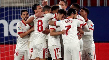 Primera: Sevilla 'preskočila' Barcelonu