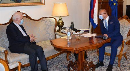 Grlić Radman s biskupom Komaricom o opstanku Hrvata u Banjalučkoj biskupiji