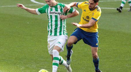 Španjolska: Sevilljski Betis slavio s 1-0 u dvoboju s Cadizom, sada je na šestom mjestu La Lige
